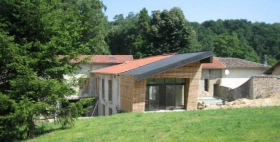 r novation d 39 une maison avec extension bois 9. Black Bedroom Furniture Sets. Home Design Ideas