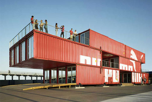 architecture container construction modulaire en