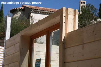 maison modulaire bois hqe en autoconstuction ecokonzept. Black Bedroom Furniture Sets. Home Design Ideas