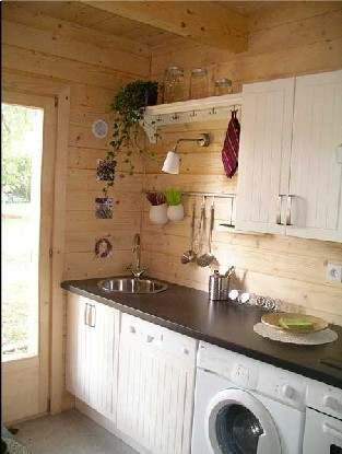 Maison en bois petit prix les maisons xe 60 000 for Cuisine 5000 euros tout compris
