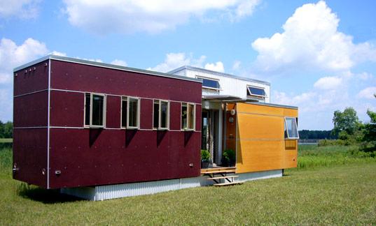 minihome petite maison modulaire tr s cologique. Black Bedroom Furniture Sets. Home Design Ideas