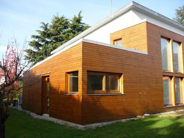 Extension Bois Sur Une Maison Des Années 70 Bonnes Idees