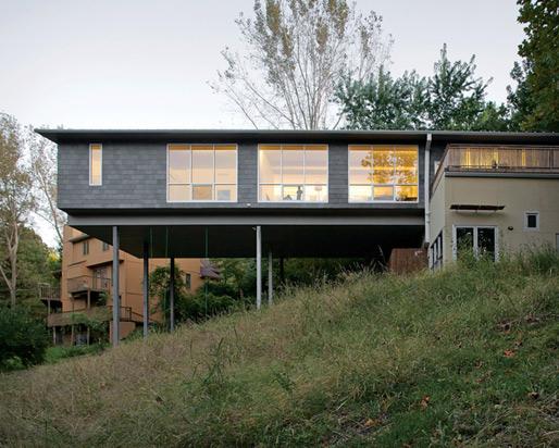 maison bois piloti