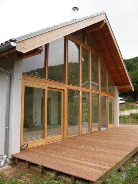maison passive bois maison basse energie isere. Black Bedroom Furniture Sets. Home Design Ideas