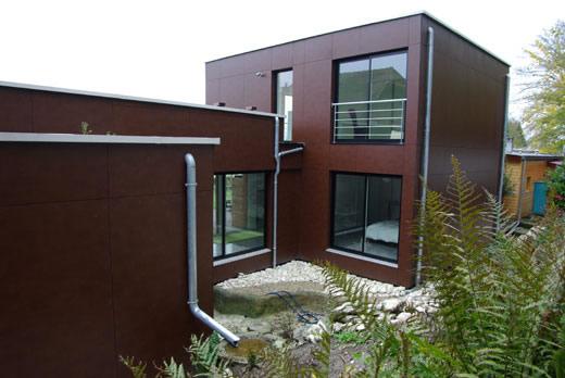 combien coute une maison en bois combien coute une extension de maison 9 maison bois architecte. Black Bedroom Furniture Sets. Home Design Ideas