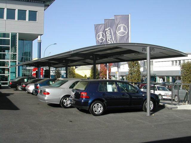 Abris modulaire pr au abris voiture stockage for Pergola pour voiture