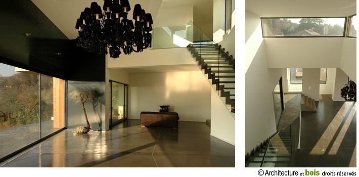 Préférence → maison bois contemporaine : maison d'architecte, maison en  ZP73
