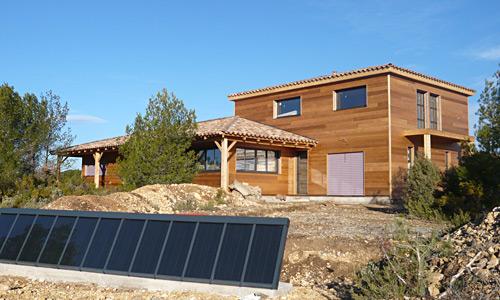 Biohome constructeur de maisonà ossature bois (dpt # Maison Panneau Bois