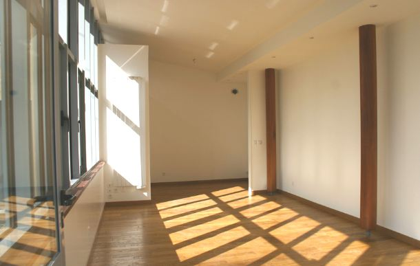 extension bois baie vitrée lumière