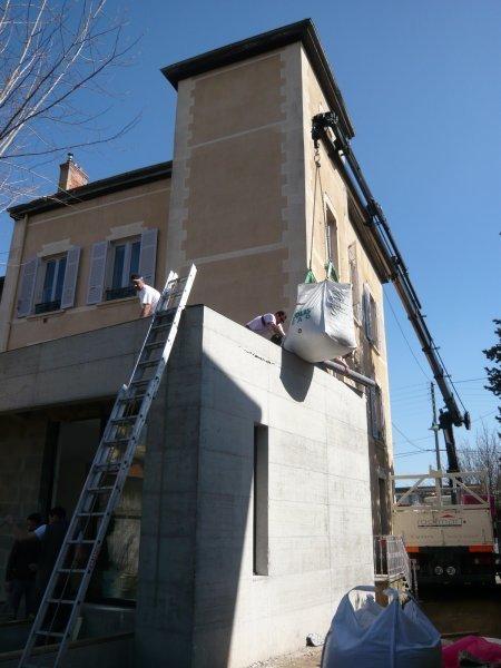 Préparation de la toiture végétalisée
