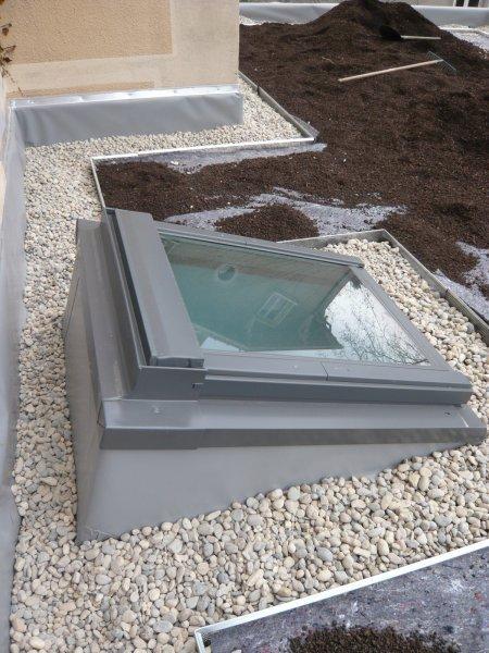 puits lumiere toiture terrasse