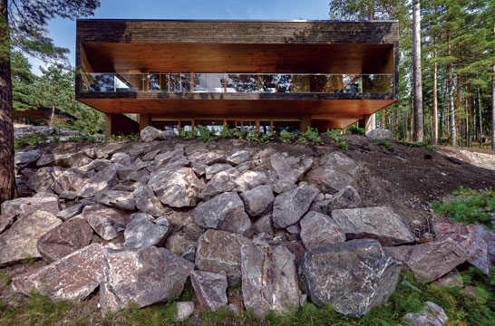 maison contemporaine maison design plusvilla design pur scandinave. Black Bedroom Furniture Sets. Home Design Ideas