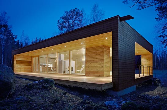 Maison contemporaine maison design plusvilla design for Maisons scandinaves en bois