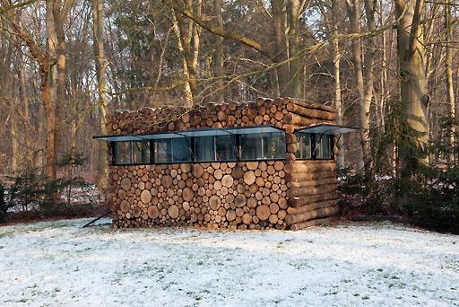 Cabane en bois de designer for Prix cabane en bois