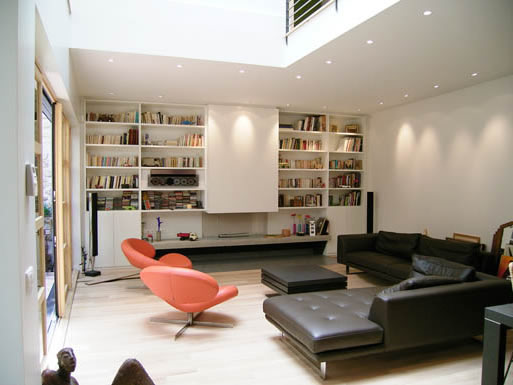 Transformation local commercial en habitation paris for Interieurs maisons contemporaines