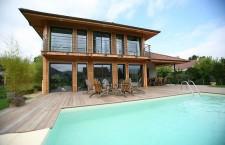 Maison poteau poutre architecteo for Constructeur de maison en bois poteau poutre