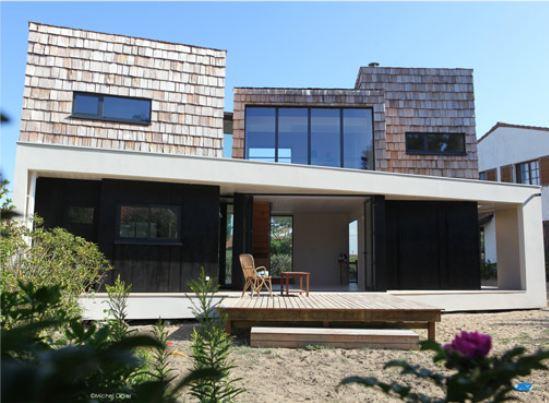 Maison cubique maison en cube d 39 architecte maison bois for Prix maison cubique