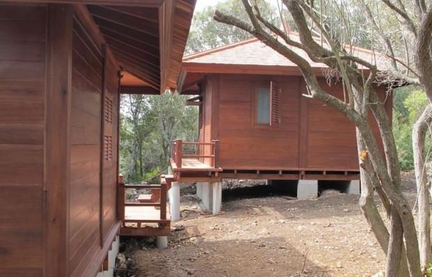 Modèle FIDJI   : 20 m² + terrasse  de 8m²