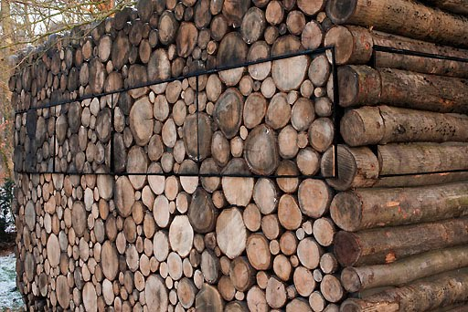 volet en bois cabane