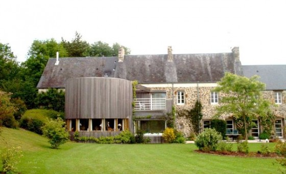 Extension bois d 39 une maison ancienne en pierre for Extension maison impot