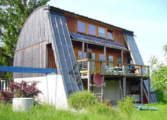 Top → Maison bioclimatique en bois – Ecoloti DD91