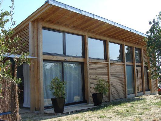 Maison bois herault ventana blog for Architecte maison ossature bois