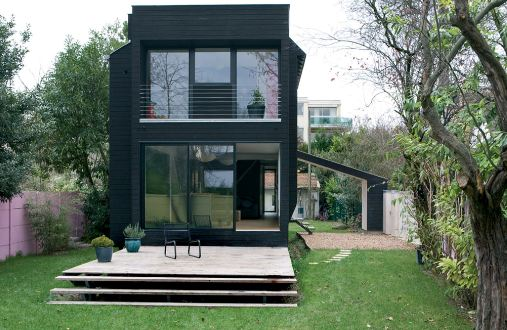 Container house on pinterest for Photo maison contemporaine container