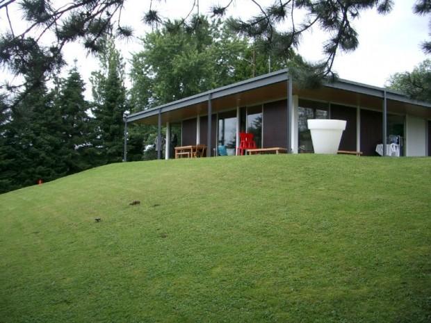 Maisons à ossature bois - Maison à toit plat en bois - Tempo Bois 4