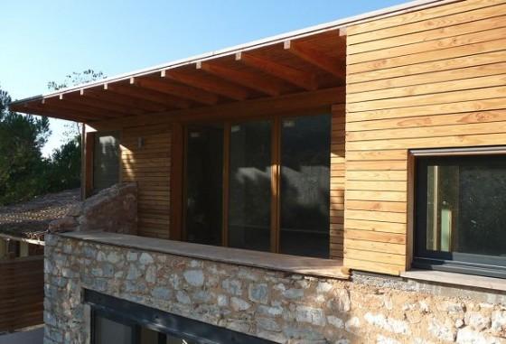 extension maison ancienne extension bois surelevation maison en pierre. Black Bedroom Furniture Sets. Home Design Ideas