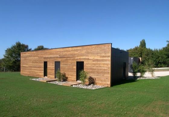 maisons en bois - construction maison bois BBC - Côtes d'Armor dpt ...