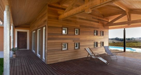 Construction de maison en bois tradition bois for Belle terrasse en bois