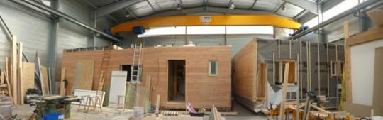 Maison modulaire bois  maison modulable et écologique Ginkgo ~ Construction Modulaire Bois