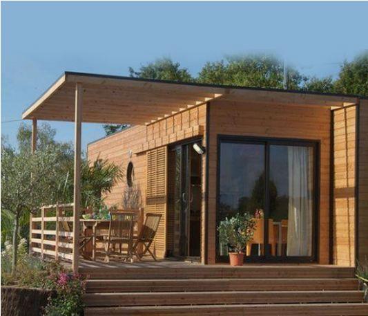 maison en bois ginkgo