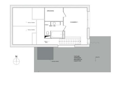 Construction d 39 une maison en bois et monomur for Plan maison un etage