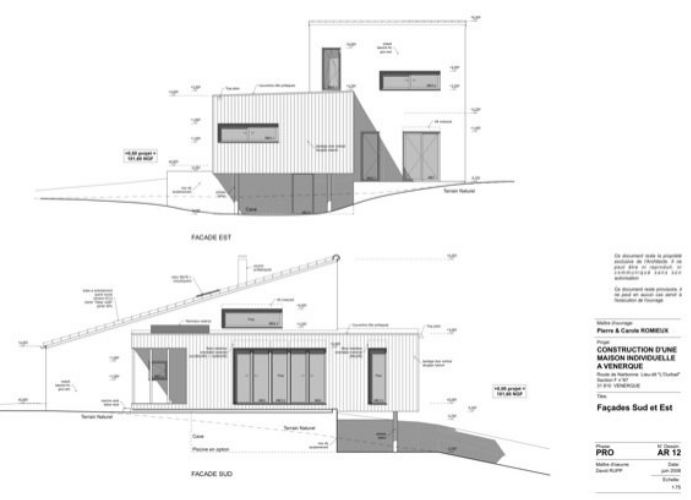 Index of architecteo wpcontent uploads 2011 03 for Plan facade maison