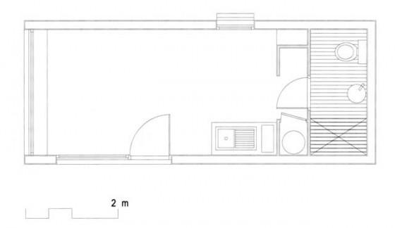 Petite maison en bois construction d 39 une petite maison for Plan petite maison m