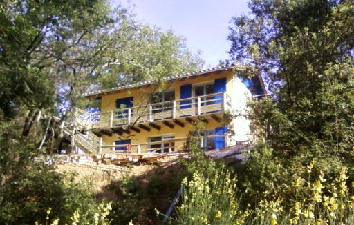 Construction D Une Maison A Ossature Bois Maison Bois Labellisee Bbc