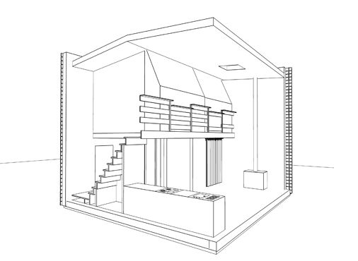 Petite maison en bois pas chere maison en cube petit prix for Prix construction maison 120m2