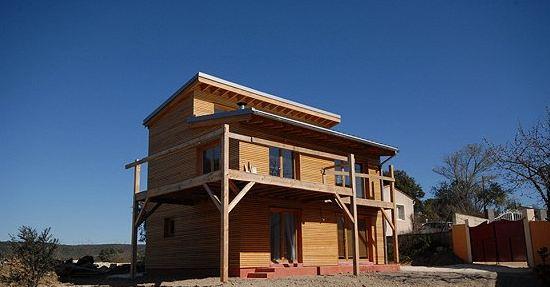 maison bois uzes