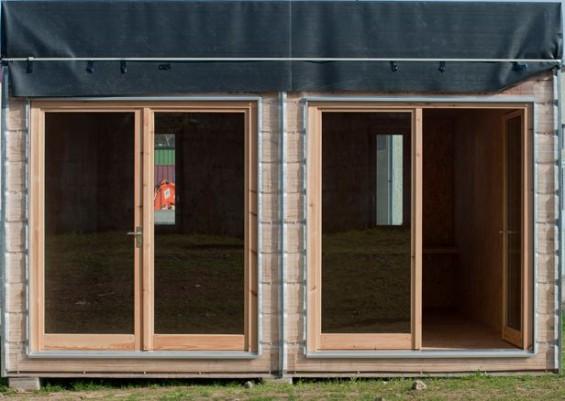 maison module bois the maximinimal la with maison module bois beautiful maison en algeco de. Black Bedroom Furniture Sets. Home Design Ideas