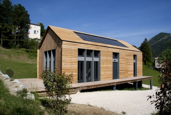 Homelib maison en kit bois kit maison passive ou bbc for Autoconstruction maison