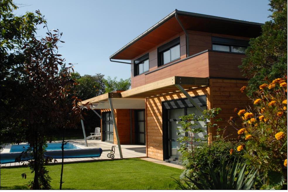 Maison parpaing bois affordable with maison parpaing bois for Maison parpaing bois