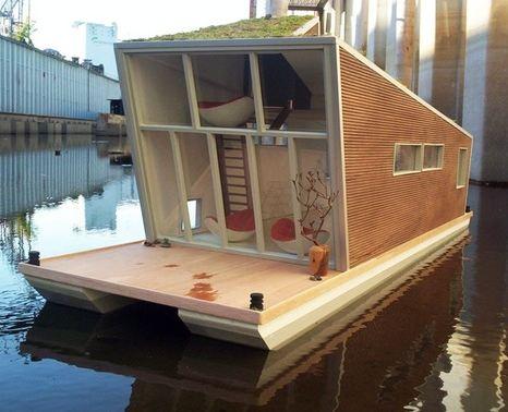 maison flottante construction de maison flottante. Black Bedroom Furniture Sets. Home Design Ideas