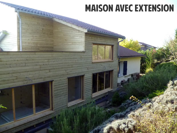 Prix d une extension en bois photos de conception de for Prix d une extension de maison