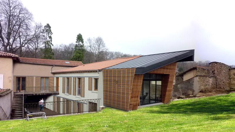 extension bois grange