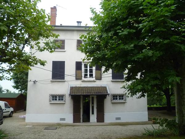 La maison avant rénovation et extension